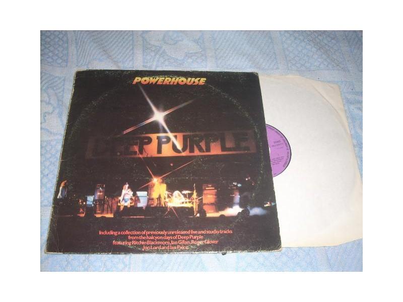 Deep Purple-Powerhouse LP EMI Greece