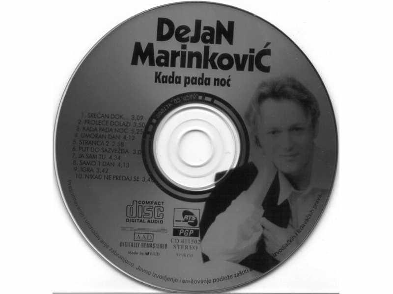Dejan Marinković - Kada pada noć