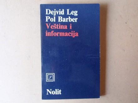 Dejvid Leg / Pol Barber - VEŠTINA I INFORMACIJA
