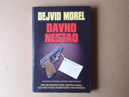 Dejvid Morel - DAVNO NESTAO