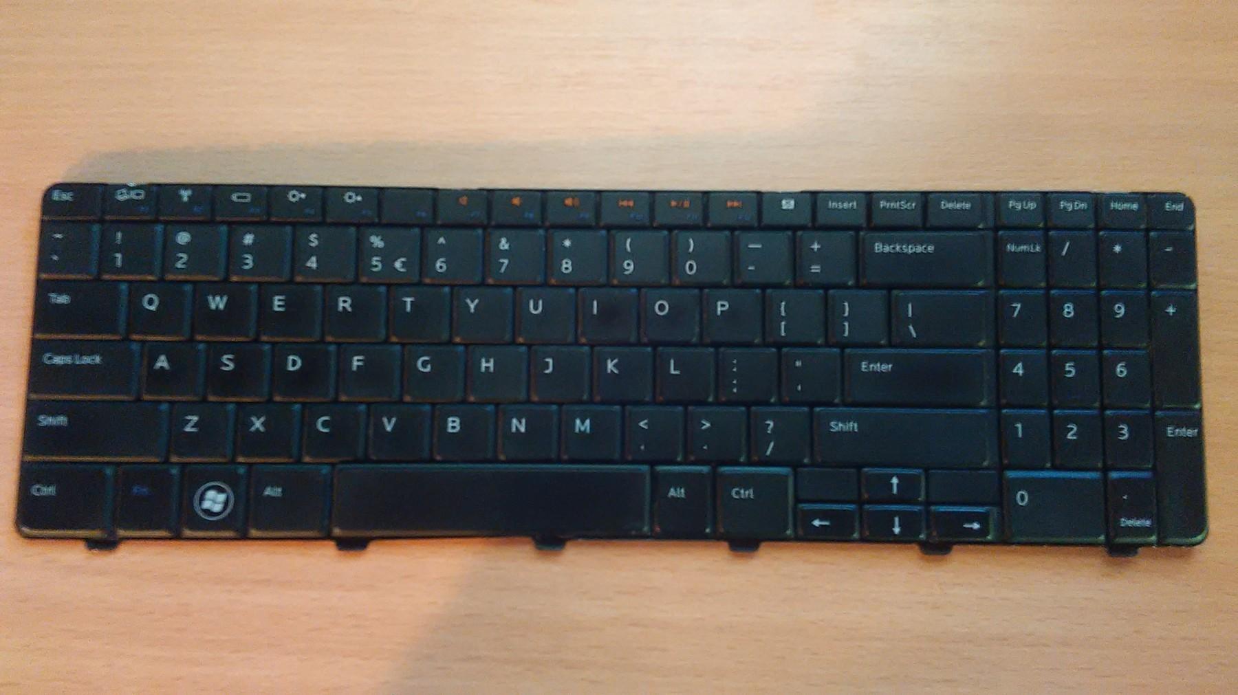 Dell Inspiron 15 15R N5010 M5010 Tastatura US Black