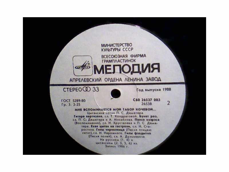 Demeter - Gypsy Song By P.S.Demeter