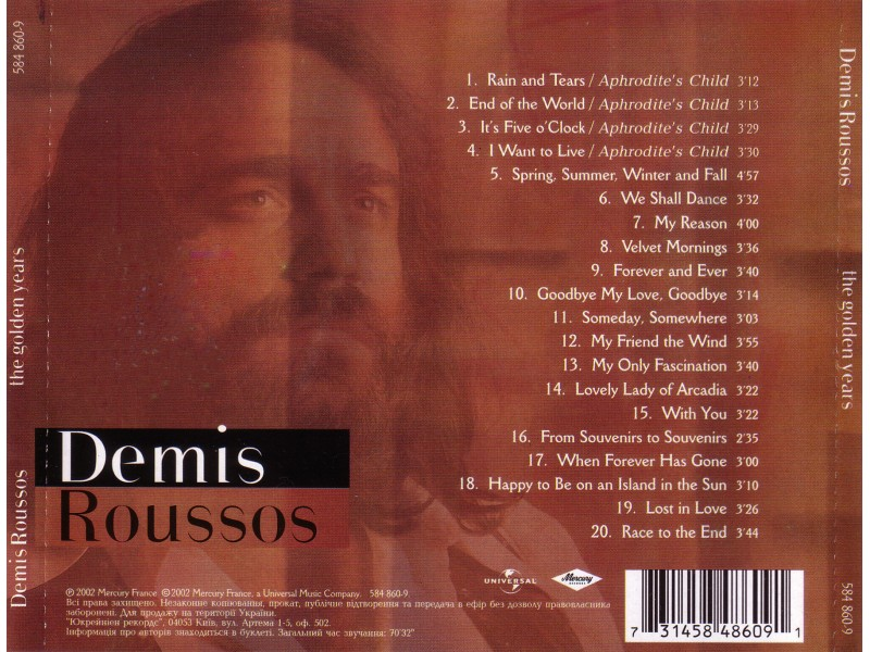 Demis Roussos - The Golden Years