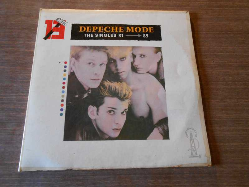 Depeche Mode - The Singles 81 - 85