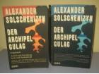 Der Archipel Gulag + Folgeband Alexander Solschenizyn