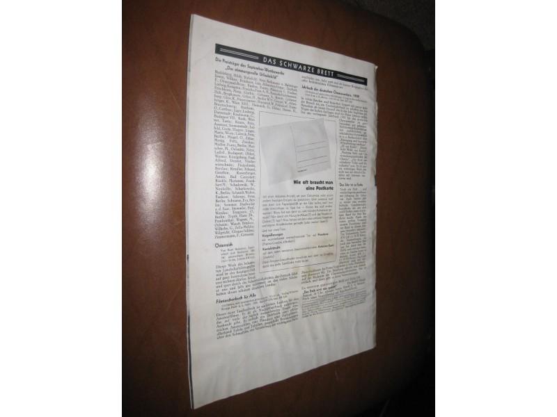 Der Satrap 14. Jahrgang 1938. November