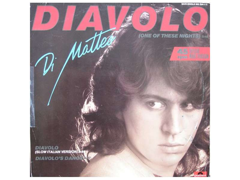 Di Matteo - Diavolo (One Of These Nights)