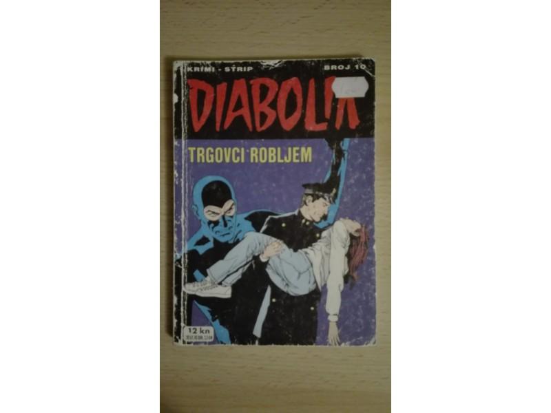 Diabolik 10 - Trgovci robljem