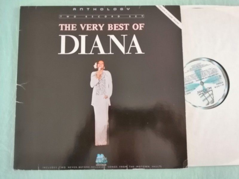 Diana Ross - The Very Best (2xLP, Germany)