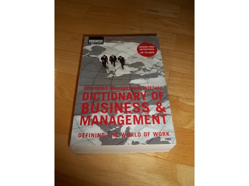 Dictionary of Business $ Management