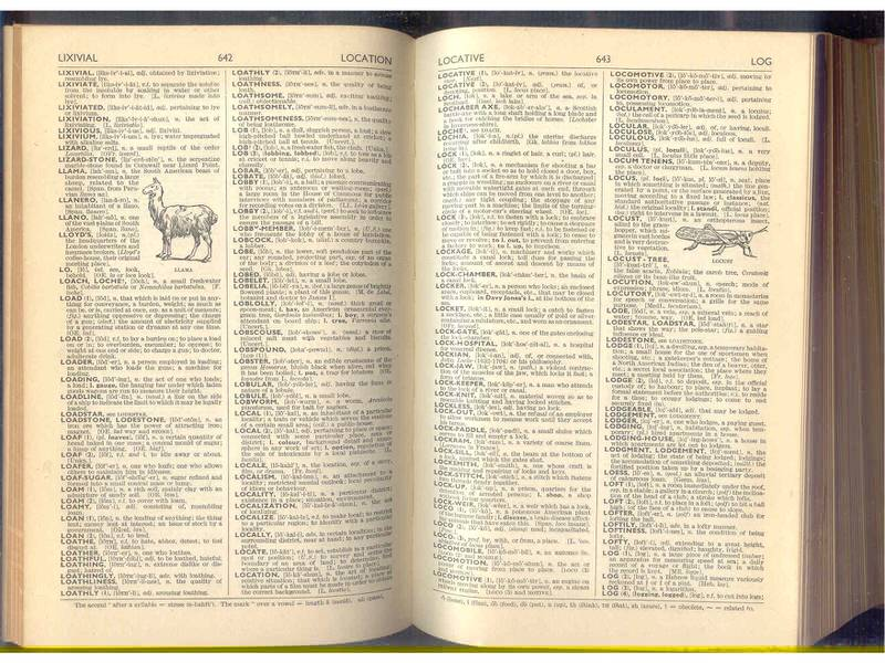 Dictionary of english language (Oldhams)
