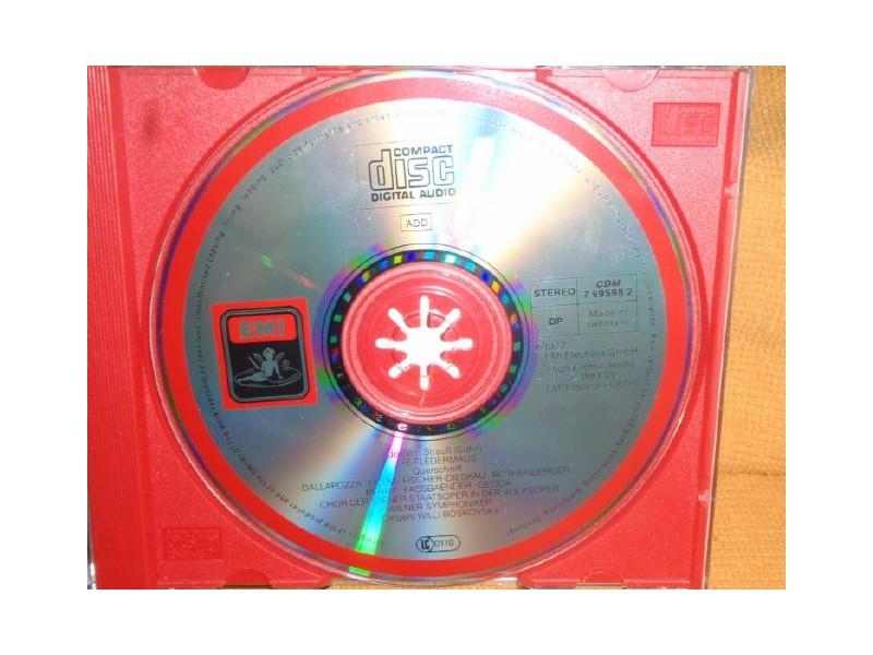 Die Fledermaus - Straus(CD)