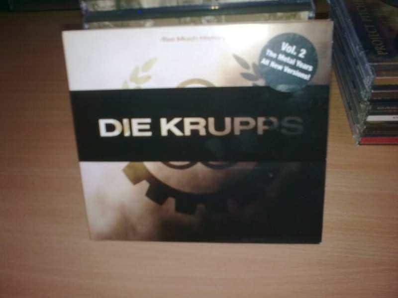 Die Krupps - Too Much History Vol.2 : Metal Years