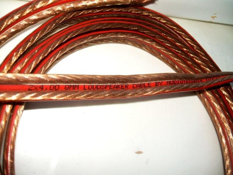Dietz Audiotechnik 2x4 qmm - 2x3metra