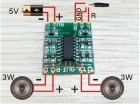 Digital DC 5V Amplifier Board Class D 2*3W USB Power