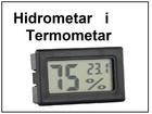 Digitalni hidrometar i termometar