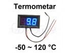 Digitalni termometar sa sondom -50-120°C - LED plavi