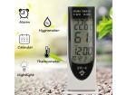 Digitalni termometar vlagometar sat alarm HTC 8