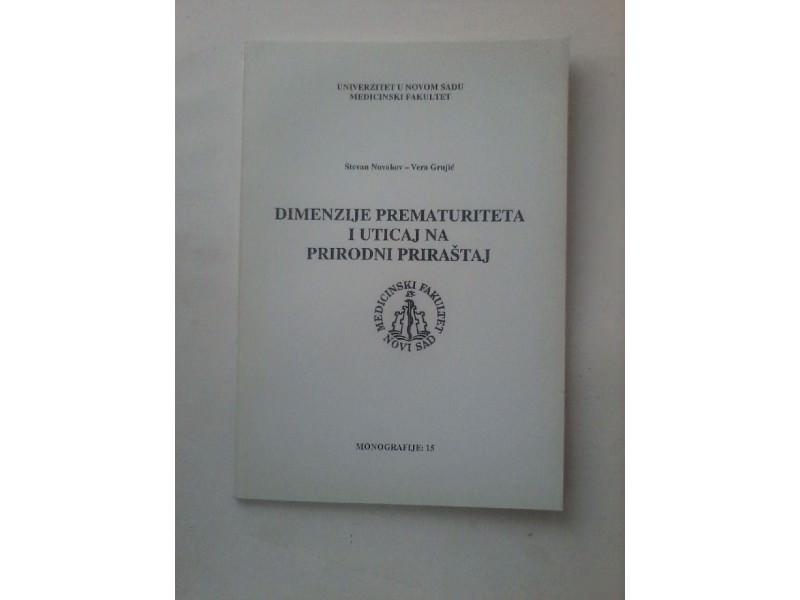 Dimenzije prematuriteta i uticaj na prirodni naraštaj,Novakov/Grujić