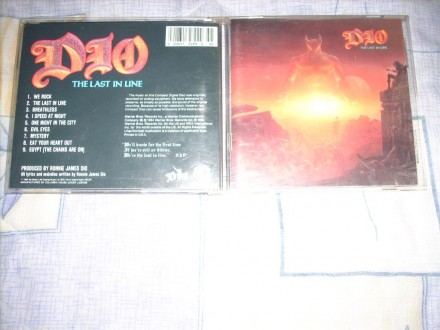 Dio - The Last In Line CD