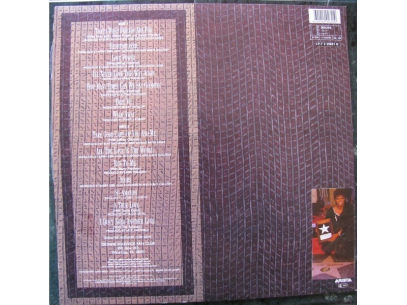 Dionne Warwick - Greatest Hits 1979-1990