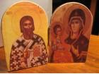 Diptih - Sv.Sava i Bogorodica