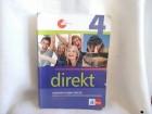 Direkt 4 udžbenik i radna sveska nemački  KLETT četvrti