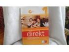 Direkt udžbenik i radna sveska nemački za prvi KLETT