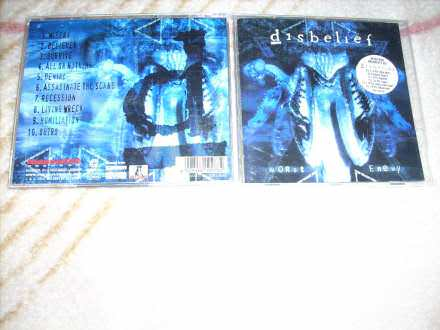 Disbelief - Worst Enemy CD
