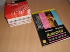 Diskete 5,25 inča - 49 komada + knjiga AUTO CAD