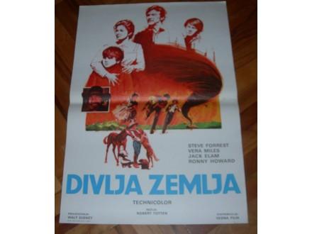 Divlja zemlja - filmski plakat