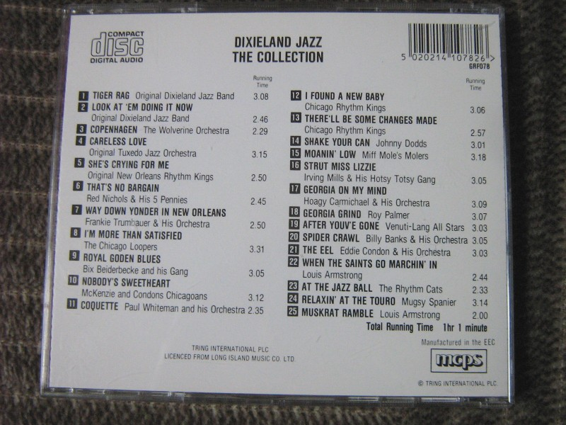 Dixieland Jazz - The Collection