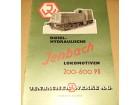 Dizel Hidraulične Lokomotive `Jenbach` Austria