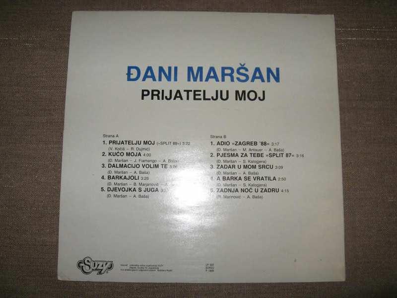 Đani Maršan - Prijatelju Moj