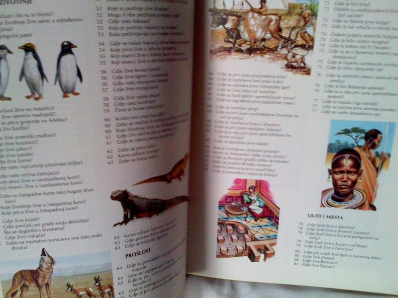 Djecja enciklopedija znanja   gdje?