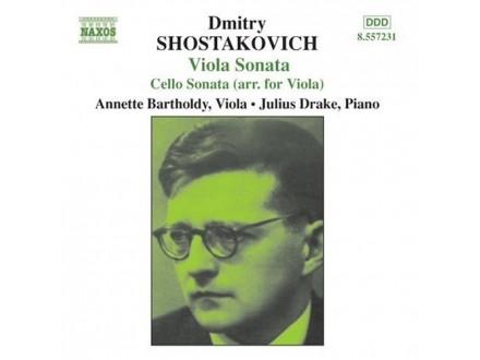 Dmitri Shostakovich, Annette Bartholdy, Julius Drake - Viola Sonata - Cello Sonata (Arr. For Viola)