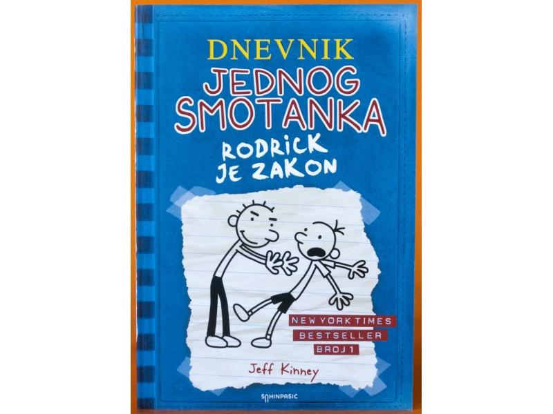 Dnevnik jednog smotanka - Rodrick je zakon, Jeff Kinney