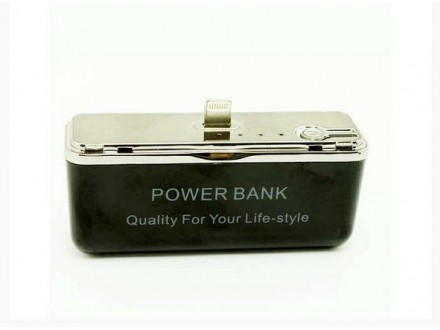 Docking station  iPhone 5 / 5S Crni  Backup battery