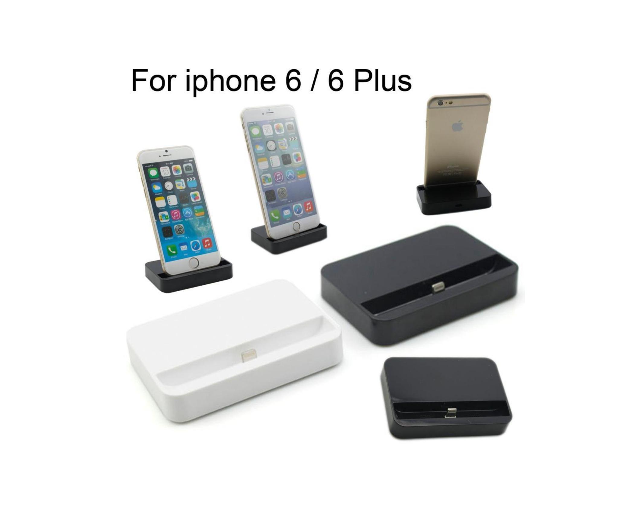 docking station iphone 6 crni 22763739. Black Bedroom Furniture Sets. Home Design Ideas