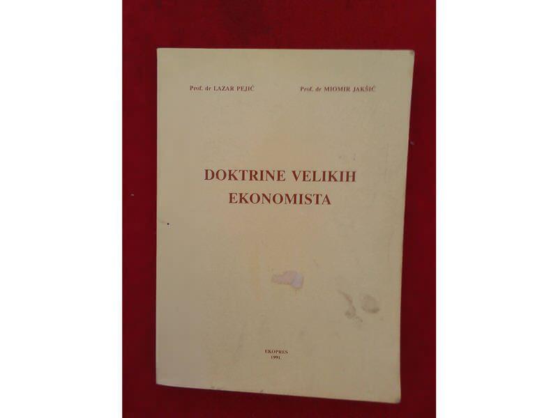 Doktrine velikih ekonomista