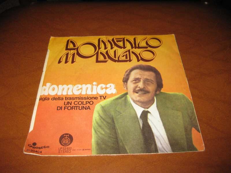 Domenico Modugno - Il Maestro Di Violino / Domenica