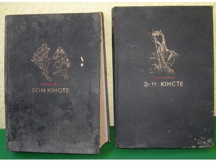 Don Kihote I, II - Cervantes, Beograd 1938., retko
