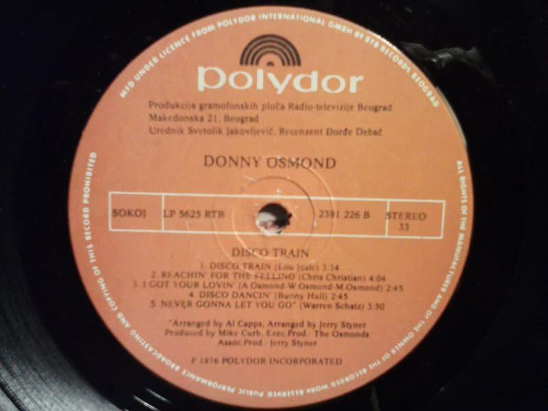 Donny Osmond - Disco Train
