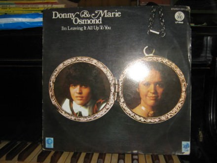 Donny & Marie Osmond - I`m Leaving It All Up To You
