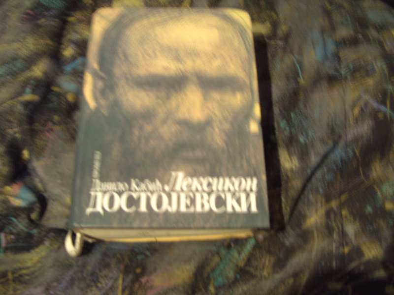 Dostojevski, leksikon, Danilo Kabić