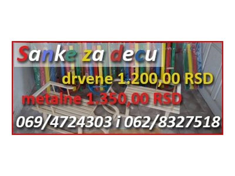 Drvene Sanke Za DECU 1100 dinara Akcija,Akcija,Akcija