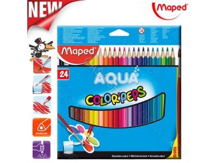 Drvene bojice Maped Aqua 1/24 No. 836013 - Novo