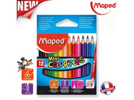 Drvene bojice Maped Color Peps 1/12 mini 832500