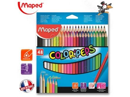 Drvene bojice Maped Color Peps 48 kom 832048 - Novo