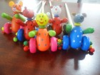 Drvene igracke - guralica (setalica)